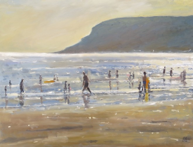 Summer Sparkle, Gower 70x50cms