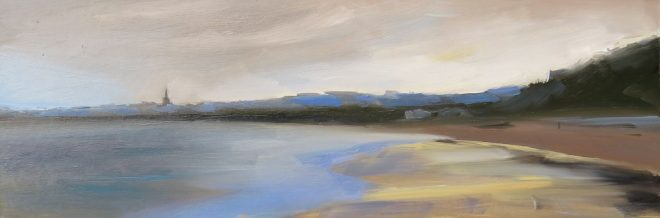 Sunshine After The Rain, Tenby 50x17cms