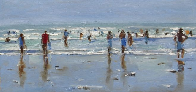 Fun In The Waves 30x15cms