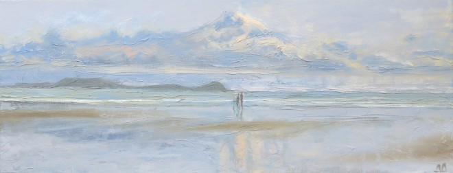 Heaven and Earth, Gower 47x15cms