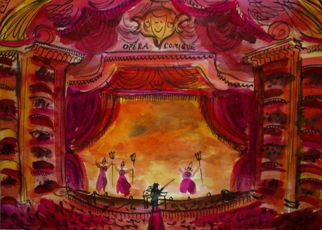 Opera Comique 70x50cms SOLD