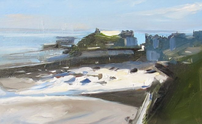 Light Study, Tenby 27x17cms